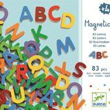 83 Litere magnetice pentru copii - Set educativ alfabet