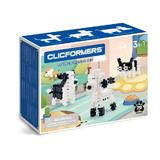 Set de construit Clicformers-Animale prietenoase, 79 piese