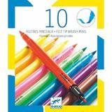 Carioci pensula - culori pop Djeco