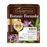 Crema Hidratanta Cu Ulei De Canepa Si Sofran Zi/noapte Bielenda Botanic Formula 50ml