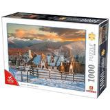 Puzzle 1000: Clay Castle, Valley of Fairies / Castelul de Lut, Valea Zanelor