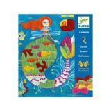 Atelier de cusut - Sirena - Set creativitate si indemanare Djeco