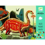 Joc educativ - Mozaic Dinozauri Djeco