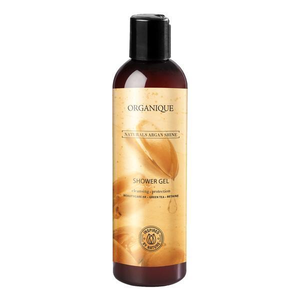 Gel de dus hranitor piele uscata si sensibila Naturals Argan Shine Organique 250 ml