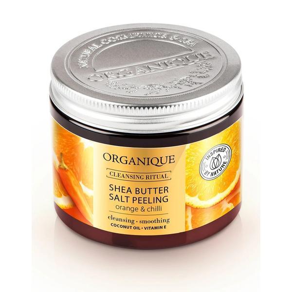 Exfoliant corporal anticelulitic cu portocale, chilli si shea Organique 200 ml