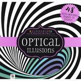 Kaleidoscope Colouring: Optical Illusions, editura Hinkler