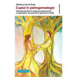 Cuplul in psihogenealogie - Mireille si Herve Scala, editura Philobia