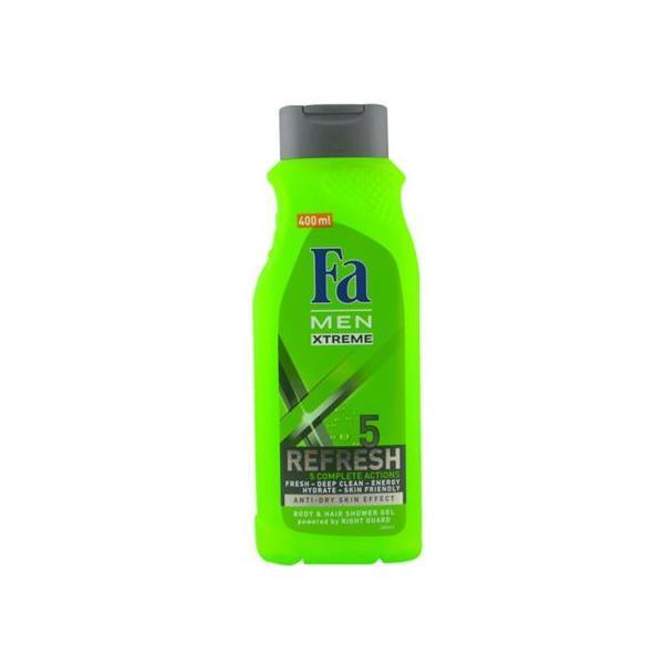 Gel de duș Fa Men Xtreme Refresh 5 400ml imagine produs