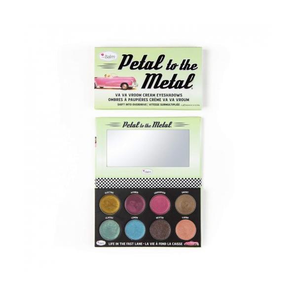 Fard de pleoape The Balm Petal to the Metal Cream Eyeshadows Va Va Vroom 10.5g imagine produs