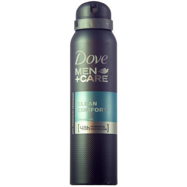 Deodorant, Dove Men +Care,Clean Confort, 150 ml poza