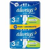 Absorbante Always, Ultra Night, Marimea 3, 12 bucati