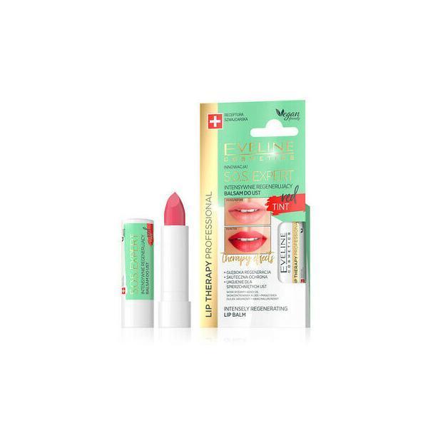 Balsam de buze - Eveline Cosmetics Sos Expert Red imagine produs