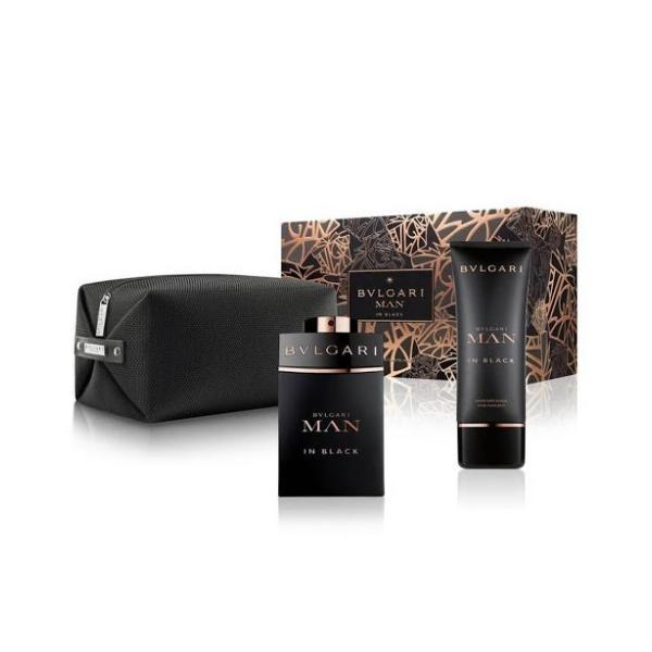 Set Cadou Apa de parfum 100ml + After-shave 100ml - Bvlgari Man in Black imagine produs