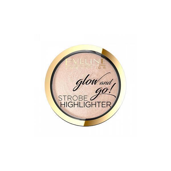 Iluminator pentru fata, Eveline Cosmetics, Glow And Go Strobe Highlighter, 01 imagine