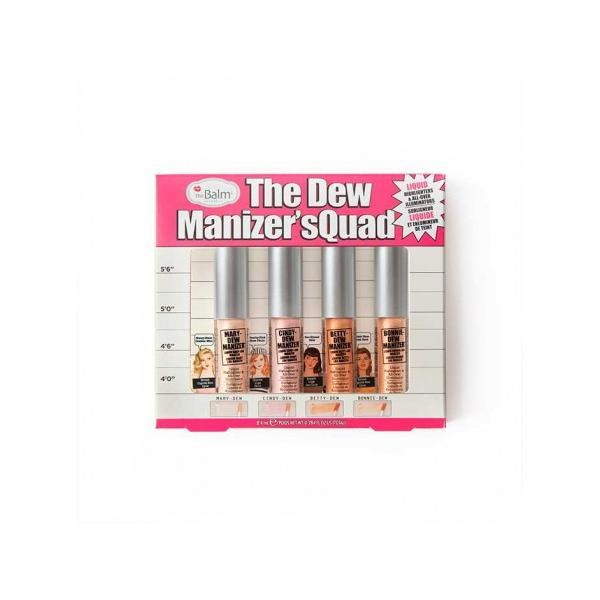 Kit fond de ten - TheBalm the Dew Manizer´squad 4x2.1ml imagine produs
