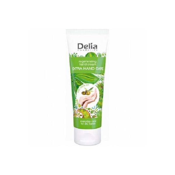 Cremă de mâini Delia Cosmetics cu ulei de măsline, 75ml imagine produs