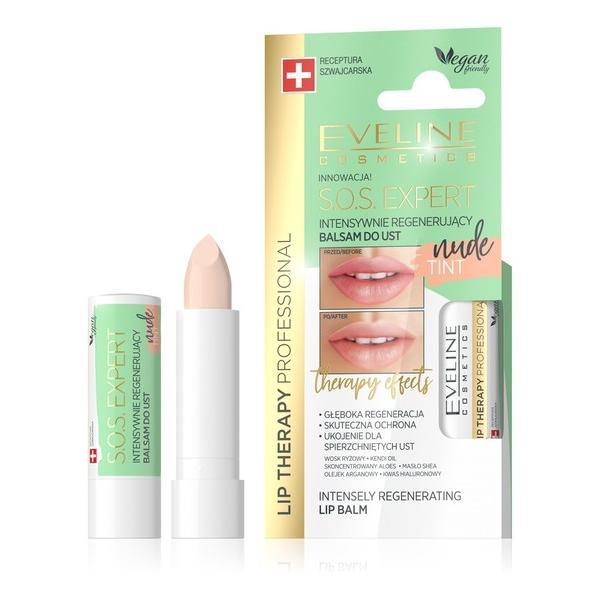 Balsam de buze – Eveline Cosmetics Sos Expert Nude 10g imagine produs