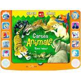 Cartea cu animale. Super carti - Tony Wolf, editura Crisan