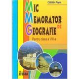 Mic Memorator de Geografie cls 8 - Catalin Popa, editura Stefan
