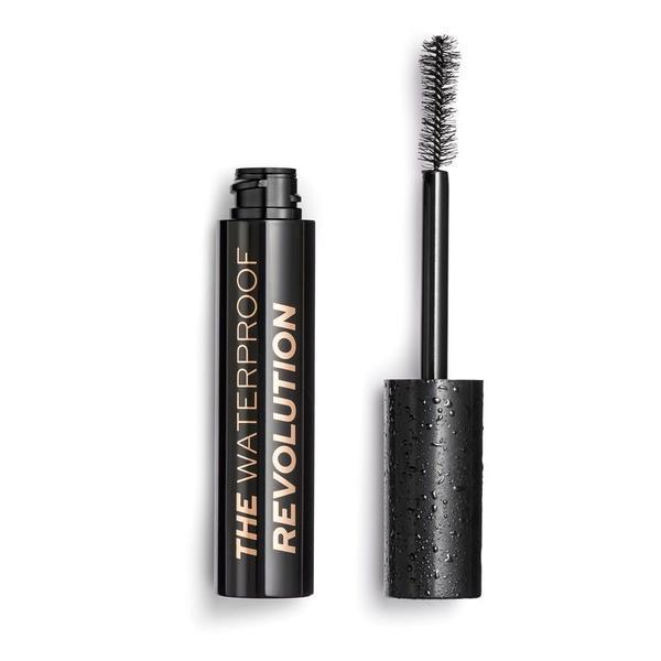 Rimel Mascara, Makeup Revolution, The Waterproof, black, 8 ml poza