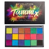 Paleta fard de pleoape, Makeup Revolution, Tammi Tropical Carnival, 18 nuante