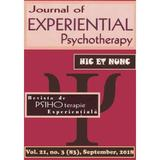 Revista de PSIHOterapie experientiala vol.21 nr.3 (83) septembrie 2018, editura Sper