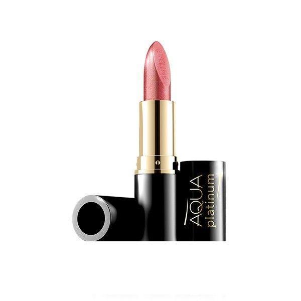 Ruj de buze Eveline Cosmetics Aqua Platinum nuanta 415 poza