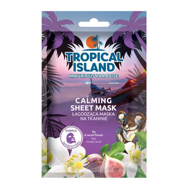 Masca de fata servetel, Marion, Tropical Island Mauritius Paradise, mov, 1 bucata esteto.ro
