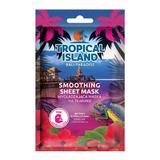 Masca de fata, Marion, Tropical Island Bali Paradise, roz, 1 bucata
