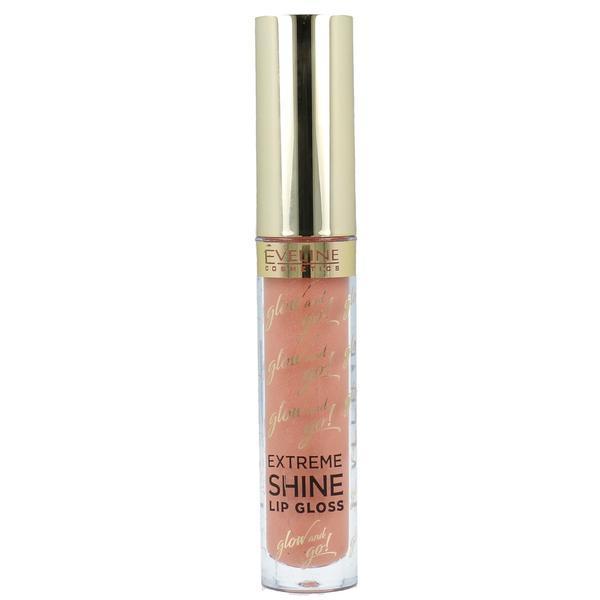 Luciu de buze Eveline Cosmetics, Glow And Go! Extreme Shine Lip Gloss, 06, 3ml poza