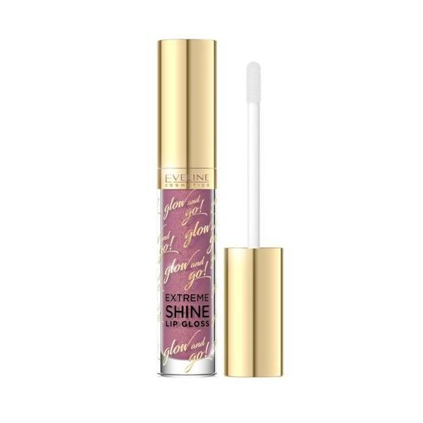 Luciu de buze Eveline Cosmetics, Glow And Go! Extreme Shine Lip Gloss, 05, 3ml poza