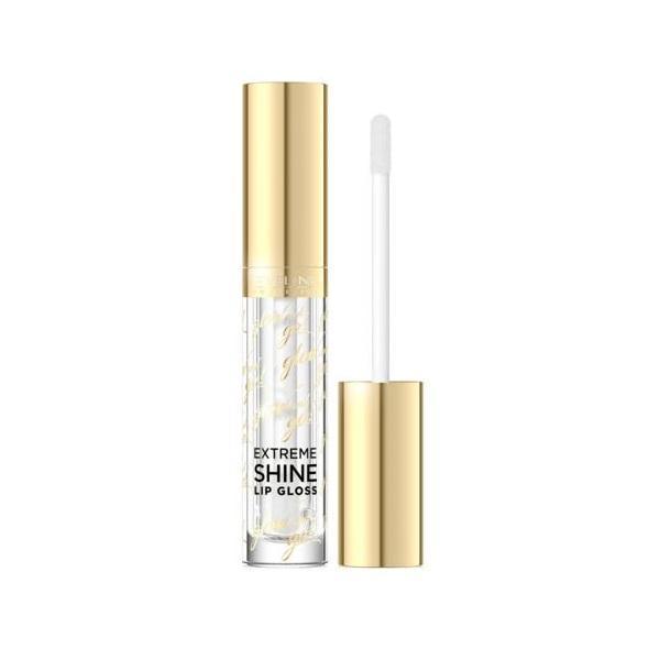 Luciu de buze Eveline Cosmetics, Glow And Go! Extreme Shine Lip Gloss, 01, 3ml poza