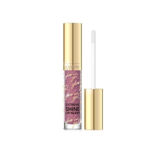Luciu de buze Eveline Cosmetics, Glow And Go! Extreme Shine Lip Gloss, 02, 3ml poza