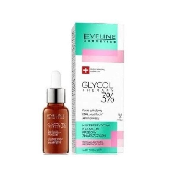 Ser pentru fata, Eveline Cosmetics Glycol Therapy 3%, 18 ml imagine