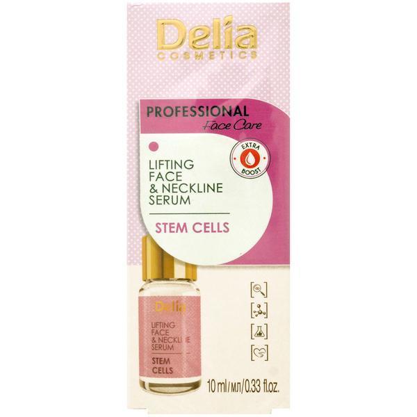 Ser tratament Lifting Anti-rid Delia pentru fata si decolteu celule stem 10ml imagine