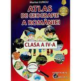 Atlas de geografie a Romaniei - Clasa 4 - Marius Lungu, editura Carta Atlas