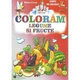 Coloram legume si fructe, editura Steaua Nordului