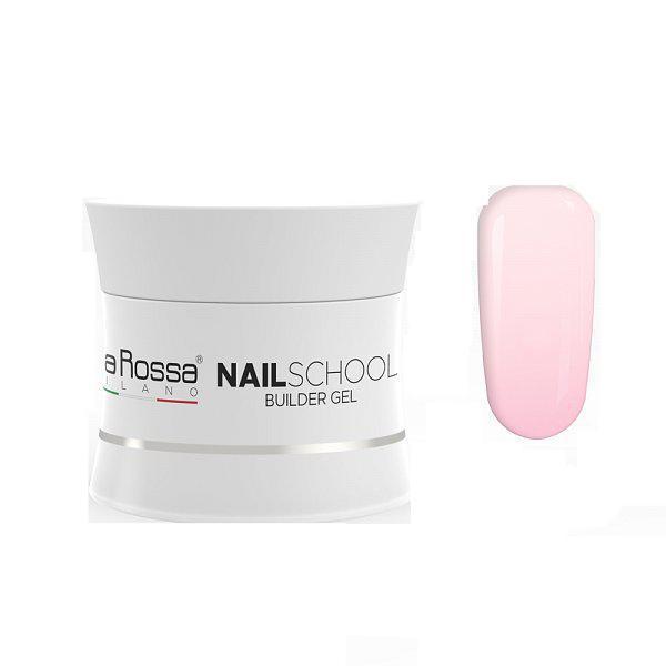 Gel Constructie NailSchool Lila Rossa, 15 g - nuanta pink imagine produs