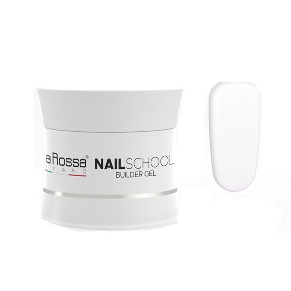 Gel Constructie NailSchool Lila Rossa, 15 g - nuanta bianco estremo imagine produs
