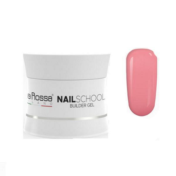Gel Constructie NailSchool Lila Rossa, 30 g - nuanta cover dark imagine produs
