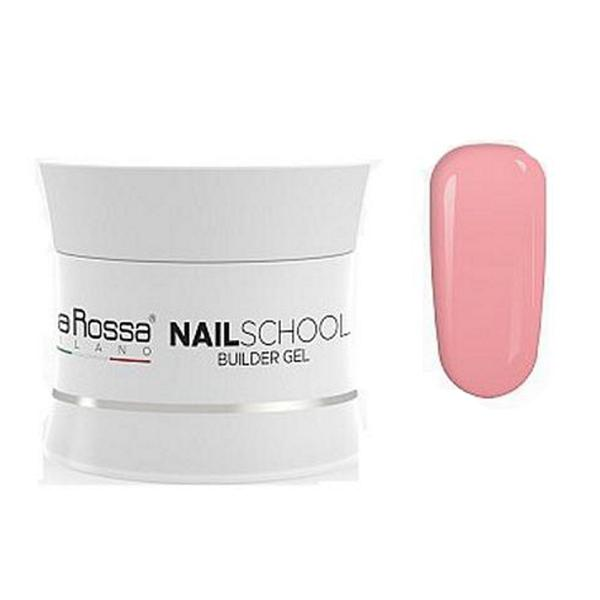 Gel Constructie NailSchool Lila Rossa, 30 g - nuanta cover light imagine produs