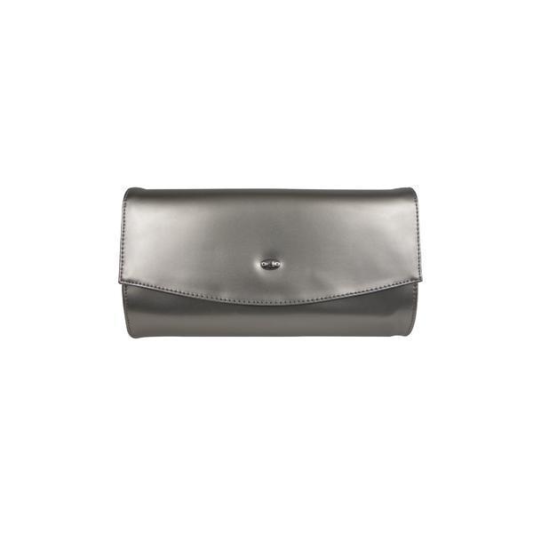 Geanta plic Hexagona Paris, culoare argintie
