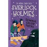 Sherlock Holmes. Semnul celor patru - Stephanie Baudet, editura Curtea Veche