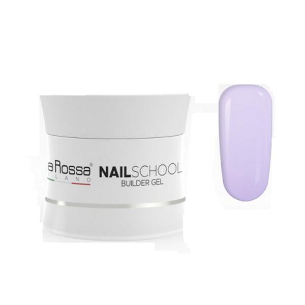 Gel Constructie NailSchool Lila Rossa, 30 g - nuanta violet imagine produs