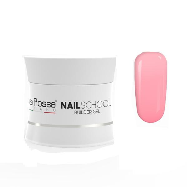 Gel Constructie NailSchool Lila Rossa, 50 g - nuanta dark french pink imagine produs
