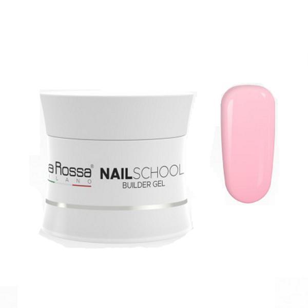 Gel Constructie NailSchool Lila Rossa, 50 g - nuanta french pink imagine produs
