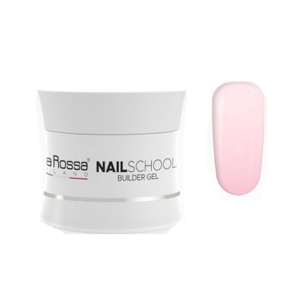 Gel Constructie NailSchool Lila Rossa, 50 g - nuanta pink imagine produs