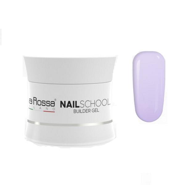 Gel Constructie NailSchool Lila Rossa, 50 g - nuanta violet