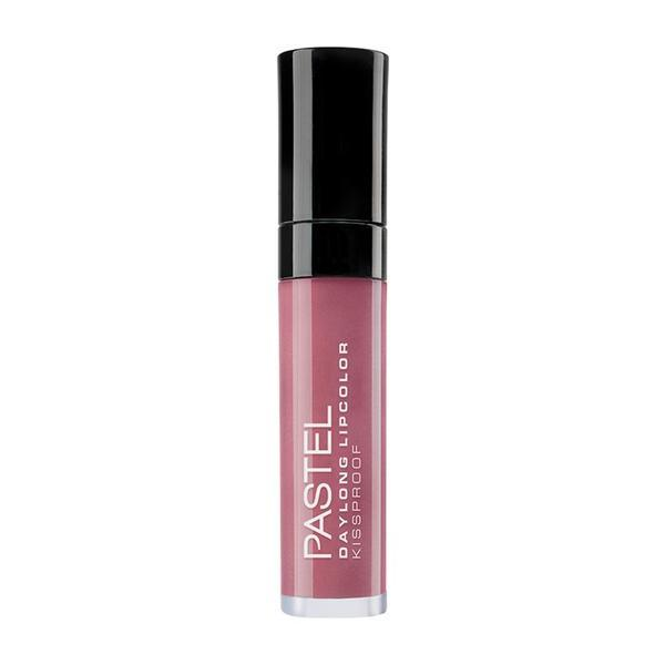 Ruj mat lichid rezistent la transfer, Daylong Lipcolor Kissproof, Pastel, nuanta 12, 7 ml poza