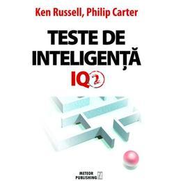 Teste de inteligenta IQ 2 - Ken Russell, Philip Carter, editura Meteor Press